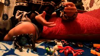 Первые мои игрушки Ben 10, и мое первое видео(Мои 1обзор, о моих игрушек Ben 10, и о любимом игрушке Трансформер. Нурсултан 8лет., 2014-11-05T13:45:40.000Z)