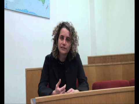Benedetta Fontana, docente Master in International Cooperation