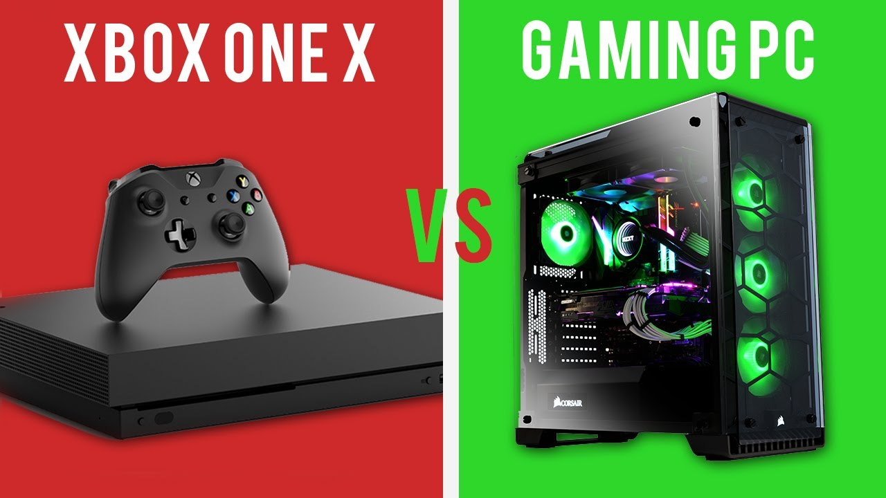 Image Result For Pc Vs Xbox One X