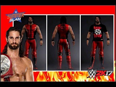 WWE 2K17: Seth Rollins - WWE SummerSlam 2017 Attire +
