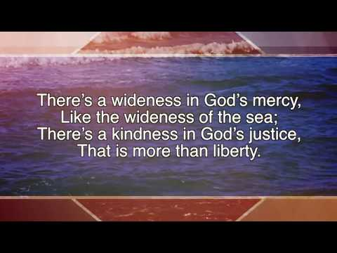 There's A Wideness in God's Mercy ~ Nate Macy ~ lyric video