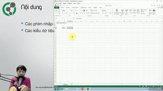 Học Excel: 1.7. Nhập dữ liệu trong Excel