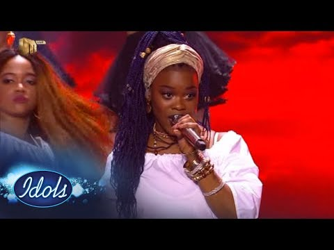 Top 7 Reveal: Phindy leaves it all on stage | Idols SA Season 13