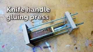 Download Making a Knife Handle Gluing Press Mp3 and Videos