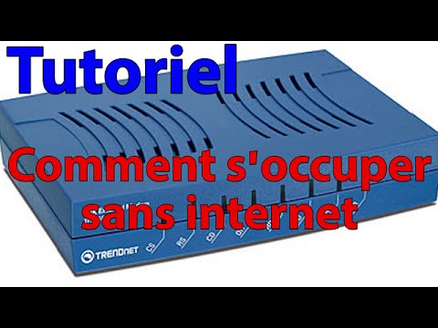 tutoriel comment s 39 occuper sans internet youtube