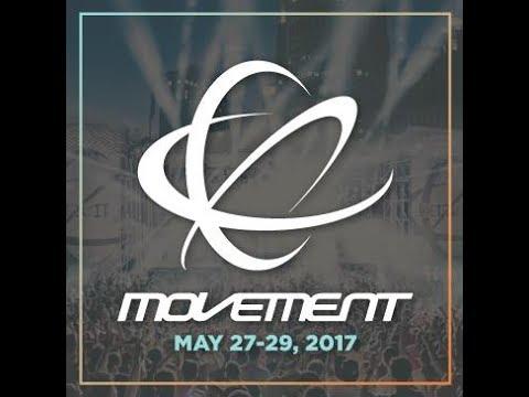 DJ John E  Collins performances @ The 2017 Detroit Movement Electronic Music Festival