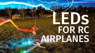 NAV lighting system for RC airplanes | 555 timer IC