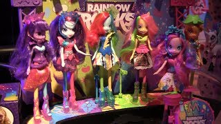 My Little Pony Equestria Girls 2 Rainbow Rocks toys revealed at Toy Fair 2014 from Hasbro