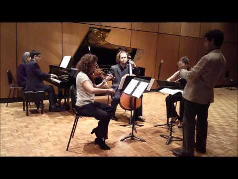 J.P.  Redmond - Piano Quartet - I. Perpetual Motion