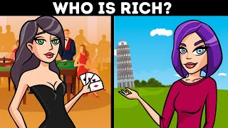 Become A Millionaire FAST & EASY - solve these riddles!