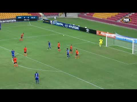 ojay clarino vs Brisbane Roar AFC Champions League 2nd Preliminary Round