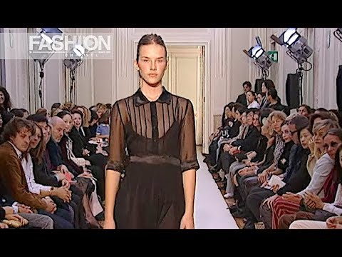 LUISA BECCARIA Spring Summer 2003 Milan - Fashion Channel