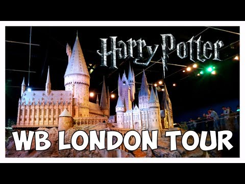 ⚡ Harry Potter - Warner Bros. Studio Tour London!!!