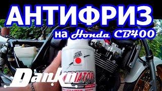 Как заменить антифриз  Honda CB400 Vtec3