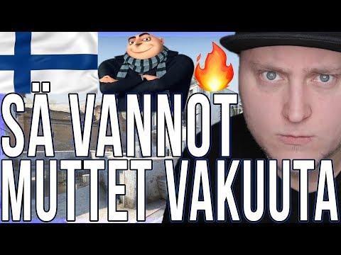 CS:GO SUOMI - SÄ VANNOT MUTTET VAKUUTA (Counter Strike: Global Offensive Competitive Hauskat Hetket) thumbnail