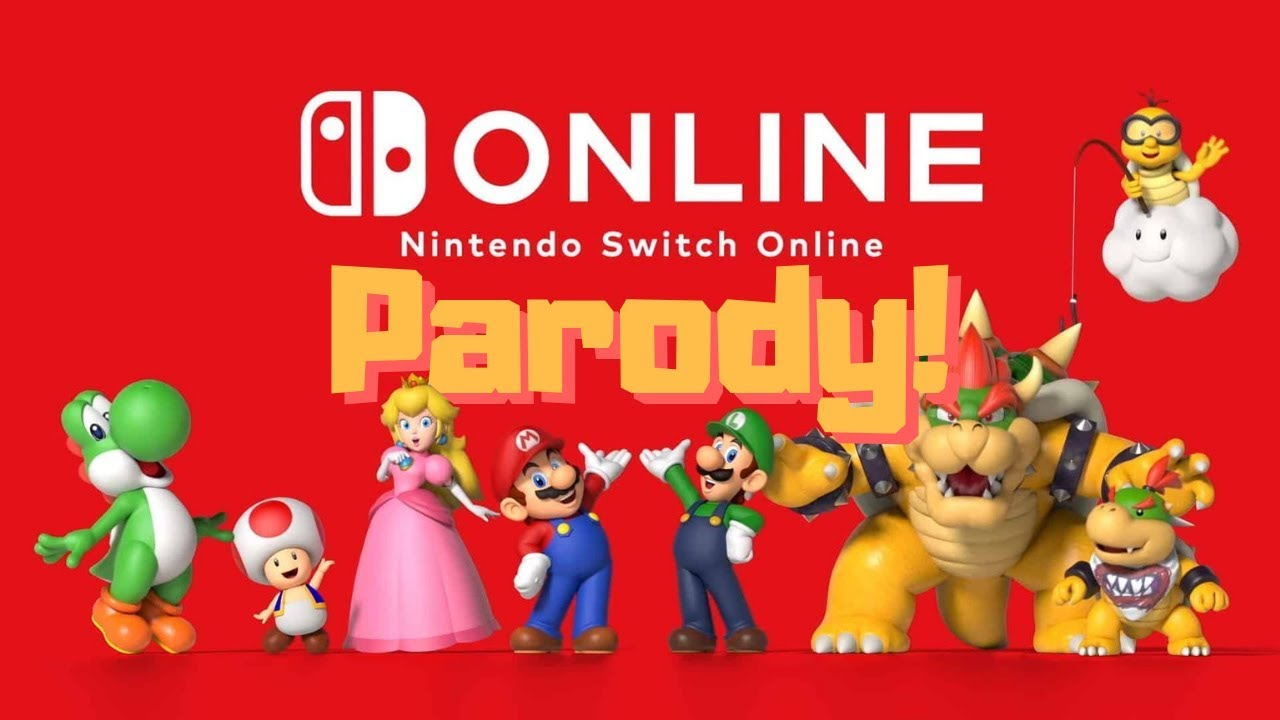 nintendo switch online funny