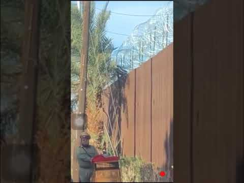 Local News: Man jumps over Us-Mexico Border in Mexicali-Calexico.