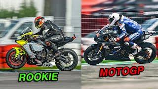 PILOTA AMATORE VS PILOTA MOTOGP - LE DIFFERENZE? Comparativa Naska VS Folger a Cremona con Yamaha R1