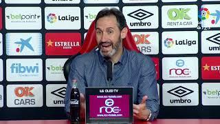 Rueda de prensa de Vicente Moreno tras el RCD Mallorca vs Granada CF (1-1)