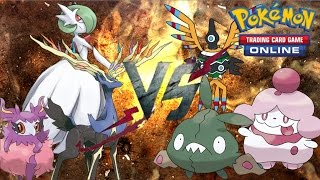 Pokemon TCGO (Live FaceCam) - Mega Gardevoir/Aromatisse VS. Tool Drop (Trubbish/Sigilyph)