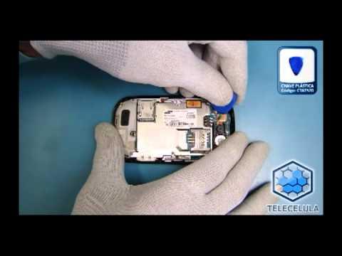 Tutorial de Desmontagem Samsung S3650