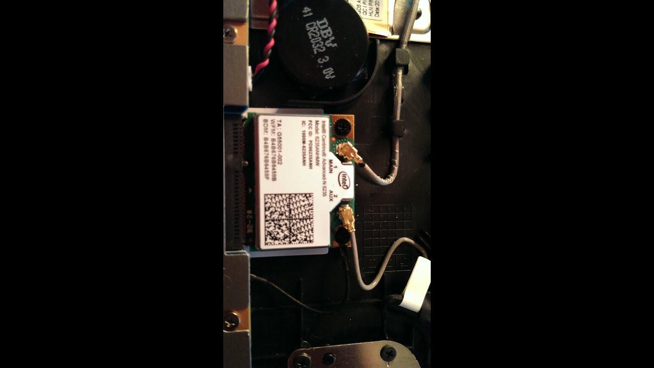 Sony Vaio Fit 14 Wifi Card Tutorial Youtube