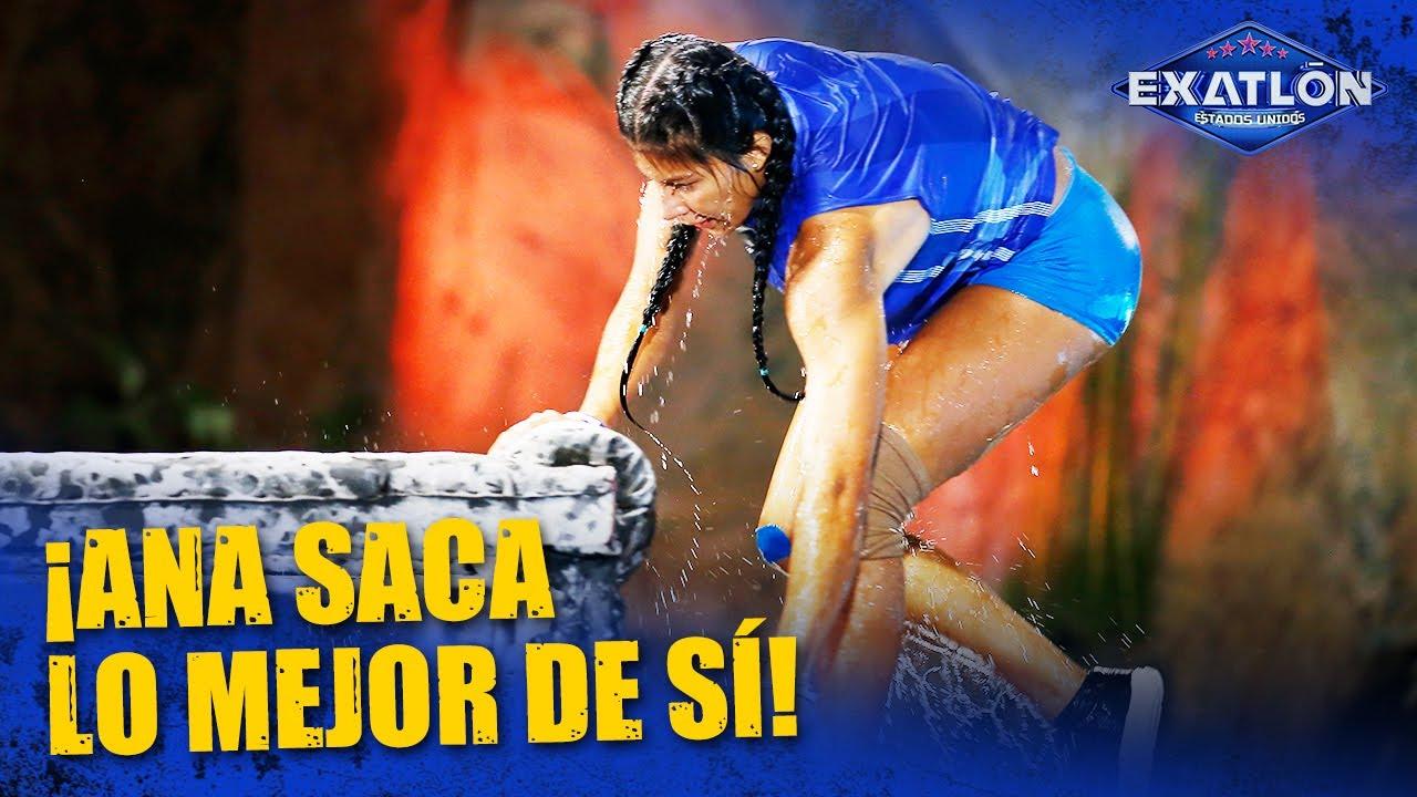 Ana Maria corre sin miedo contra Nathy | Exatlón EEUU #5