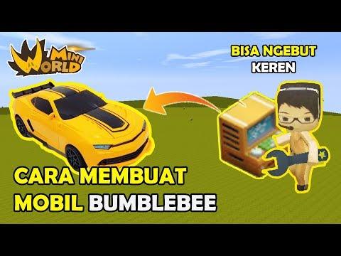 CARA MEMBUAT MOBIL BUMBLEBEE KEREN - MINI WORLD BLOCK ART ( TUTORIAL ) thumbnail