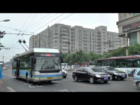 BEIJING BRT AND OTHER TROLLEYBUSES MAY 2016