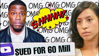 KEVIN HART SUED BY SIDE CHICK ~CLAIMS KEVIN SET HER UP TO BE FILMED