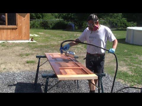 The Woodpecker Ep 92 -  Building The New Shop Part 20  - The Garage Door