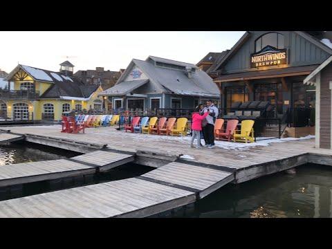 4K Blue Mountain Village | Ontario Canada