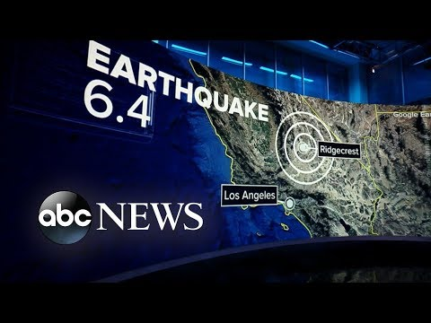 California town under state of emergency after 6.4 magnitude