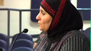 Jewish Voice for Peace speaks at ABQ City Council 12-21-15