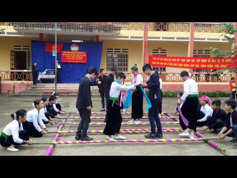 Múa Sạp của Đoàn TN thôn Đồng Qua, xã Liêm Phú - Văn Bàn - Lào Cai