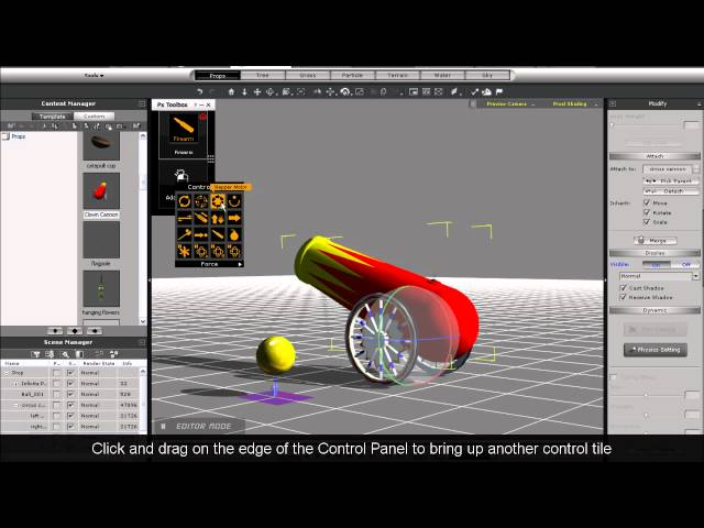 iclone physics toolbox tutorial 3