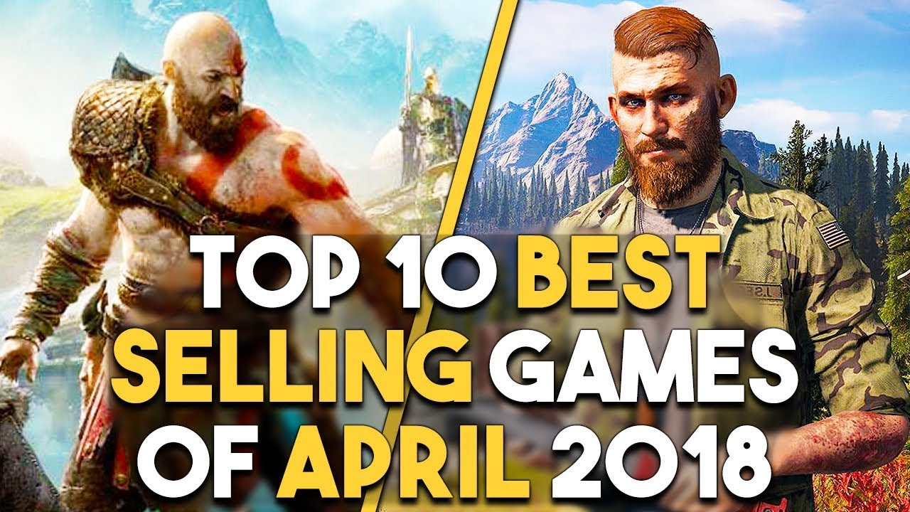Top 10 BEST Selling Games April 2018 and PS4 Exclusive Leaked?