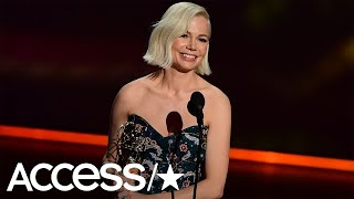 Michelle williams gives inspiring speech over pay inequality at emmys