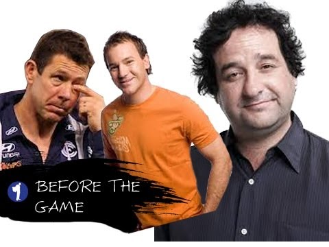Before The Game Takes The Piss Out Of Carlton