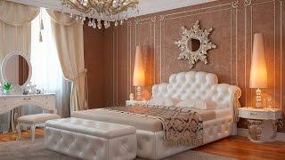 видео Классический стиль спального интерьера