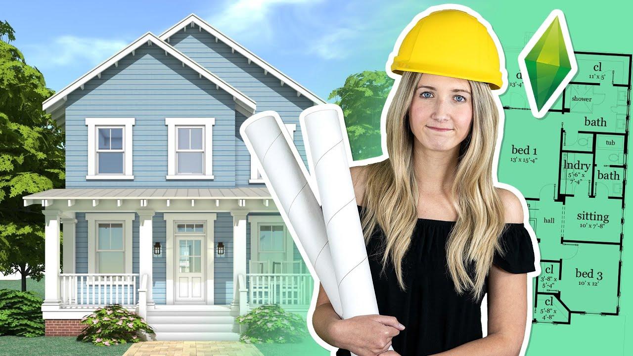 J'essaie d'être une architecte... Dans les Sims! |