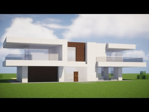 Minecraft Tutorial - Casa Moderna (da serie Ultra Survival)