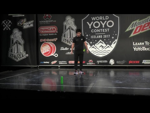 World YoYo Contest 2017 Mountain Dew Cup - Finals