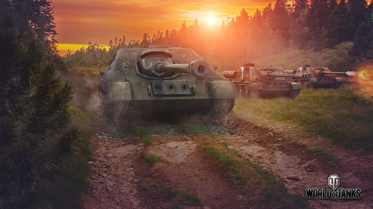World of Tanks - SU-122-44 Review - YouTube