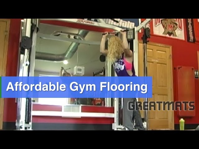 Inexpensive Gym Flooring Rubber Gym Flooring Roll Video