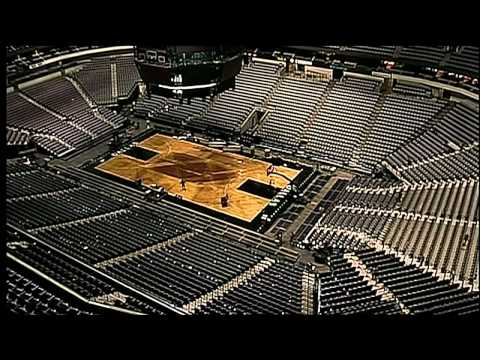 American Airlines Center Conversion Video - Four Events In Six Days
