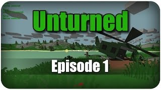 Dansk - Unturned EP 1 - Helikopter Crash