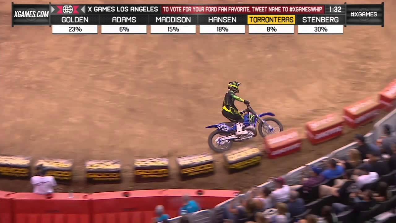 Josh Hansen wins Moto X Whip