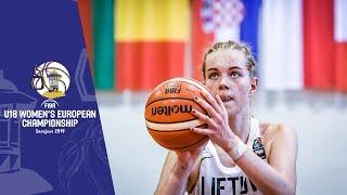 Lithuania v Poland - Full Game - FIBA U18 Women's European Championship 2019