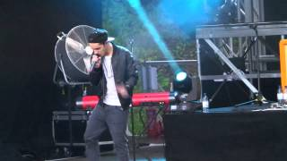 The Wanted - The Killers medley - Scarborough Open Air Theatre 14/6/13